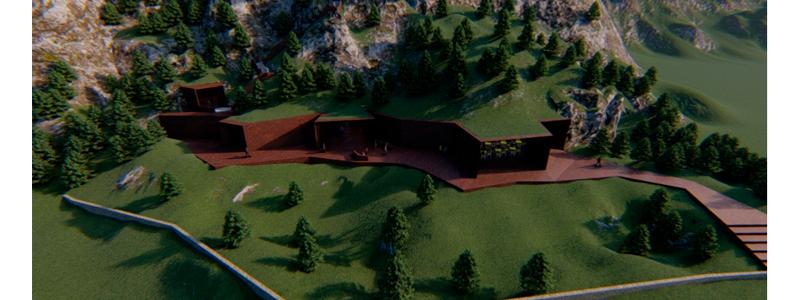 HUMA's Architectural Design for Morocco's Grotte du Chameau