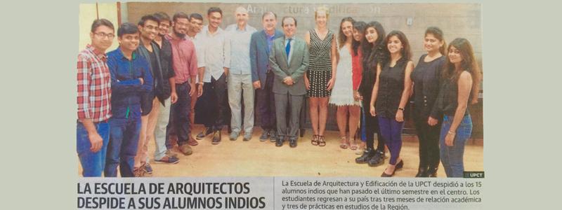 HUMA establishes agreement with POLITECNICA de Cartagena university