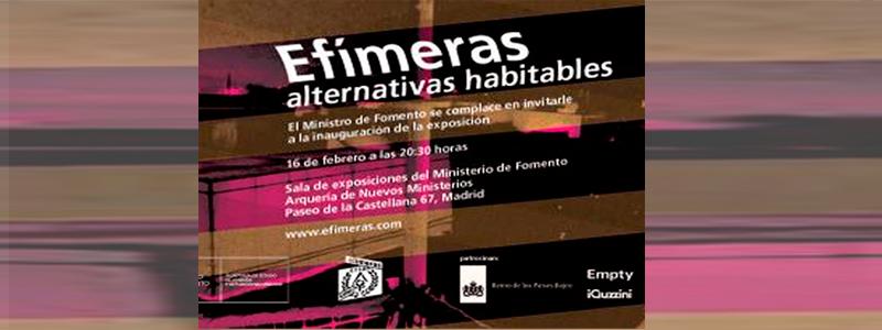 EXHIBITION ARCOS NUEVOS MINISTERIOS MADRID