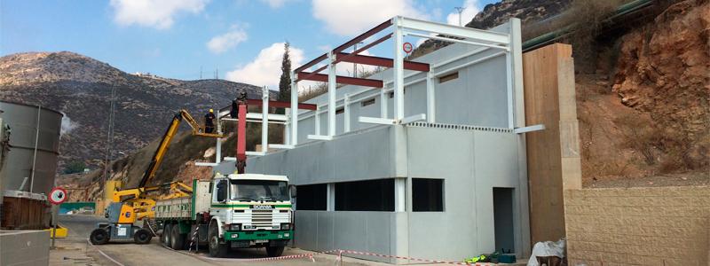 HUMA. NEW BUILDING CONTROL FOR AEMEDSA